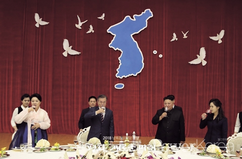 Moon and Kim hold third summit in Pyongyang