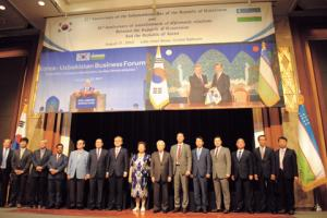 Uzbekistan spurs exchanges and cooperation with S. Korea