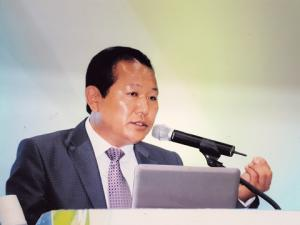 Cheongsan Forestry Farm Corporation president Park Heng-gyu