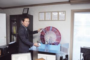 Can a spinning wheel generate electricity?  Mullae Energy Tech CEO Youngsik Choi says 'YES!'