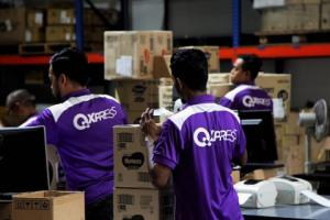 Korea-Singapore Economic Cooperation Leading Company: Qxpress -Qxpress' e-commerce shipments from Korea to Singapore in the first half of 2020 increased 49 percent year-on-year